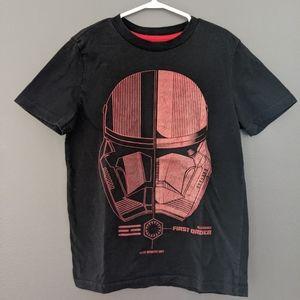 Star Wars First Order black short sleeved t-shirt
